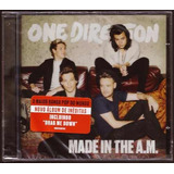 One Direction Made In The A m Cd Lacrado Original