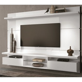 Painel Home Theater Suspenso Livin 2 2 Branco Hb M�veis