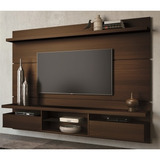 Painel Home Theater Suspenso Livin 2 2 Mocaccino Hb M�veis