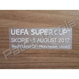 Patch Match Date Supercopa Uefa 2017 Real Vs Manchester