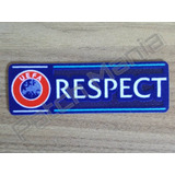 Patch Oficial Uefa Respect
