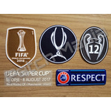 Patch Supercopa Da Uefa   Fifa 2016   Real Madrid