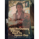 Paul Mcccartney & Wings  Back To Square One  box 4 Cds