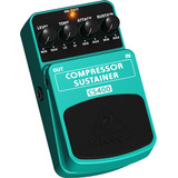 Pedal Behringer P  Guitarra Cs400 Compressor Sustainer