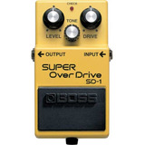 Pedal Boss Guitarra Sd 1 Super Overdrive