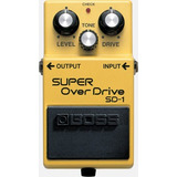 Pedal Boss Sd 1 Super Over Drive Musical Store