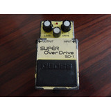 Pedal Boss Super Over Drive Sd 1 Made In Japan