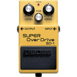 Pedal Boss Super Over Drive Sd1   Brinde Novo