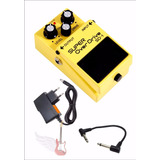 Pedal Boss Super Over Drive Sd1   Fonte   Palhetas