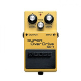 Pedal Boss Super Overdrive  Sd 1   Sd1   Nota Fiscal