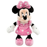 Pel�cia Disney Original Casa Do Mickey   Minnie Rosa 20cm