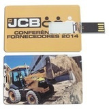 Pen Drive Cart�o Personalizado   Pen Card   8gb