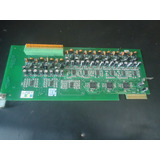 Placa 12 Ramais Analogicos Digistar Xt 88 130 Ou Xt 200 Revi