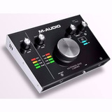 Placa Interface Fast Track Duo M Audio 2x2 Preamp Lancamento