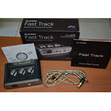 Placa Interface Fast Track M Audio Usb E Cd Driver