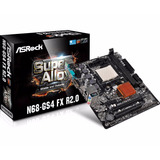 Placa Mãe Asrock Am3  N68 gs4 Fx R2 0 Ddr3 16gb 10 100 1000