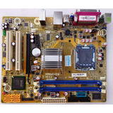 Placa M�e Asus pcware  Ipm41 d3 775 Ddr3 At 8gb Core 2 Quad