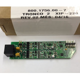 Placa Pabx Digistar Xip220 2 Troncos Xip 220