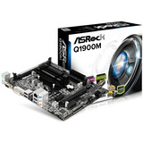 Placa mãe Asrock Q1900m Intel Quad core J1900 2 0ghz
