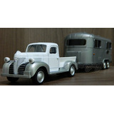 Plymouth Truck 1941 Trailler 1 43 Motor Max Pick up Caminh�o