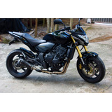 Ponteira Escape Full 4x2x1 Shark Carbon Hornet Cb600 08 � 14