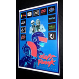 Poster Daft Punk House Music Disco Pop  Daft Punk Discovery