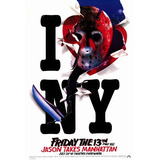 Poster  28 X 43 Cm  Friday The 13th Part8 Jason Takes