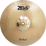 Prato Bateria Zeus Brilliant Crash Ataque 16 Liga B20