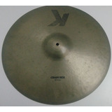 Prato K Zildjian Crash Ride 20 Polegadas Made In U S A Raro