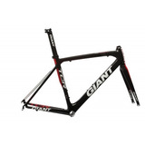 Quadro Giant Tcr Advanced Speed Carbon  m  Garfo Carbon