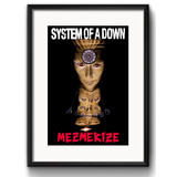 Quadro System Of A Down Rock Musica Arte Decoracao Paspatur