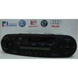 Radio Toca Fitas Original Vw Novo P New Beetle 1c0035157