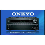 Receiver Onkyo   Tx nr525 5 2   Channel Network A v  Lacrado