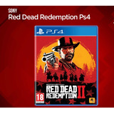 Red Dead Redemption 2 Mídia Física   Ps4