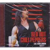 Red Hot Chili Peppers   Cd Live From London   Lacrado