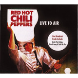 Red Hot Chili Peppers Cd Live To Air Novo Lacrado