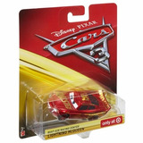 Relâmpago Mcqueen Dourado Rusteze Racing Center   Cars 3