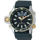 Rel�gio Citizen Aqualand Jp2004 Serie Ouro Nota Fiscal