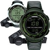 Rel�gio Frequenc�metro Suunto Vector Hr Dark Green White Nfe
