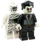 Rel�gio Lego Kids Monster Fighters Lord Vampire Ou Mummy