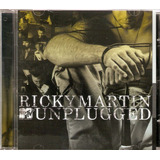 Ricky Martin  Mtv Unplugged Cd Original E Lacrado