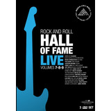 Rock And Roll Hall Of Fame  box 3dvds the Who metallica novo