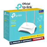 Roteador Wireless Tp link Tl wr849n 300mbps 2 Antenas Fixas