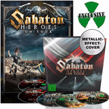 Sabaton   Heroes On Tour Earbook Deluxe  2dvd 2blu ray cd