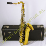 Sax Tenor King Cleveland 615 Vintage Estojo Original