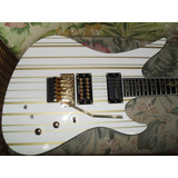 Schecter Synyster Gates Custom S White gold