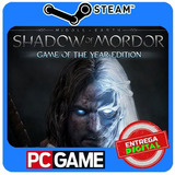 Shadow Of Mordor Game Of The Year Edition Pc Steam Cd key
