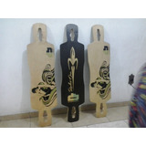 Shape De Longboard Freeride 41  Dream Board Com Lixa