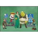 Shrek & Fiona And Friends   5 Figuras   Mc Farlane   Box Set