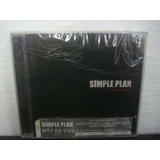 Simple Plan   Mtv Hard Rock Live   Cd Nacional